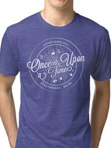 Once Upon A Time / TV / Badge Design Tri-blend T-Shirt