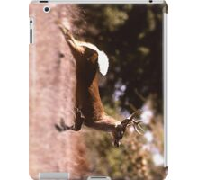 White-Tail Deer Running iPad Case/Skin