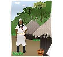 Indian tribe Kogi of Colombia  Poster