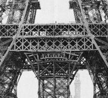 Eiffel Tower Construction Sticker