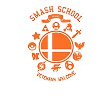 Smash School Veteran Class (Orange) Photographic Print