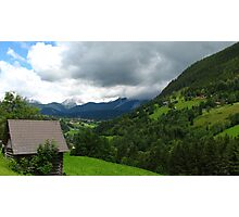 Unterfal Valley Photographic Print