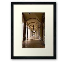 Lisboa arcade Framed Print