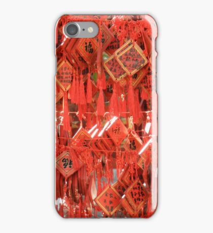 Red Prayers iPhone Case/Skin