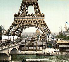 Base of The Eiffel Tower  by BravuraMedia