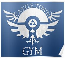 Castle Town Gym Leader Poster