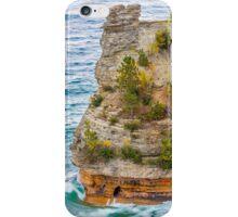 Waves Crash on Miners Castle iPhone Case/Skin