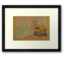 Disney Aristocats Marie Disney Cats Disney Kittens Framed Print