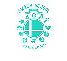 Smash School Veteran Class (Cyan) Photographic Print