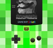 Game Boy Color Minecraft  by SecondArt