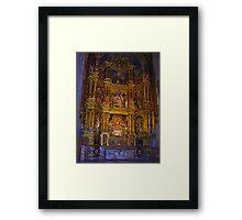 Seo Altar Framed Print