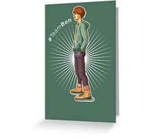 Benjamin Bentley - Something Like Characters Greeting Card
