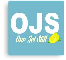 Our Jet Still -OJS  Canvas Print