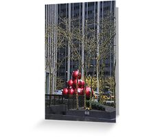 Ornaments and Lights Greeting Card