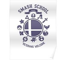 Smash School Veteran Class (Purple) Poster