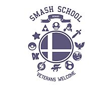 Smash School Veteran Class (Purple) Photographic Print