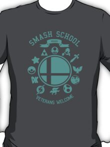 Smash School Veteran Class (Cyan) T-Shirt