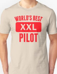 World's Best Pilot T-Shirt