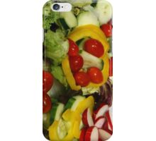 Fresh Garden Salad iPhone Case/Skin