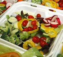 Fresh Garden Salad by BravuraMedia