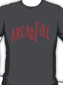 """Red Logo"" of Arcade Fire T-Shirt"
