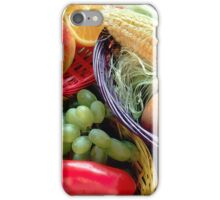 Healthy Fruit and Vegetables iPhone Case/Skin