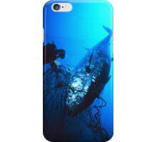 Giant Bluefin Tuna Caught in a Net iPhone Case/Skin