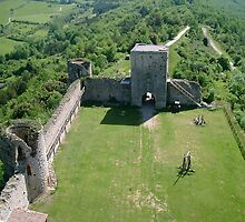 Cathar castle by William Mason