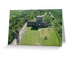 Cathar castle Greeting Card