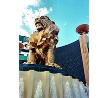 MGM Lion Photographic Print