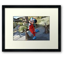 Disney Minnie Mouse Disney Aviation Minnie Mouse Outfit Framed Print