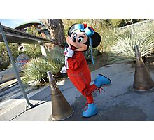 Disney Minnie Mouse Disney Aviation Minnie Mouse Outfit Photographic Print
