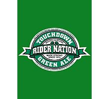 Rider Nation Green Ale Photographic Print