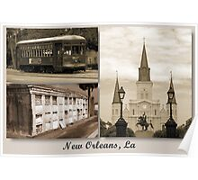 "My Home Town  ""New Orleans, La Poster"