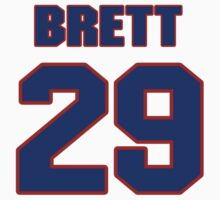 National Hockey player Brett Sterling jersey 29 by imsport