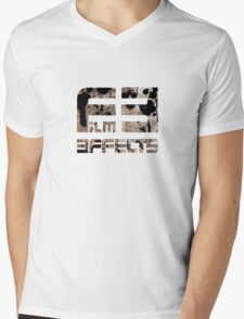 film Effects styled Mens V-Neck T-Shirt