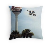 The Blue's Throw Pillow