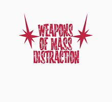 Weapons of Mass Distraction Boobies Womens Fitted T-Shirt