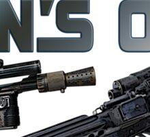 Sun's Out Guns Out! Sticker