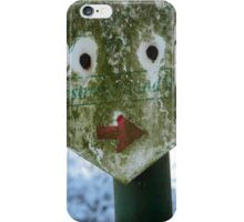 Funny Face - JUSTART © iPhone Case/Skin