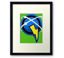 Captain Qwark Symbol  Framed Print