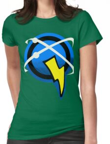 Captain Qwark Symbol  Womens Fitted T-Shirt