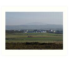 Northern Ireland Sheep Farm Art Print