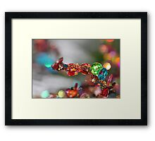 All that Glitters - JUSTART © Framed Print