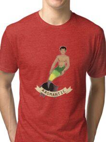 Aromantic Merman Tri-blend T-Shirt