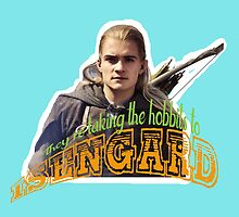 To Isengard! by LookItsHailey