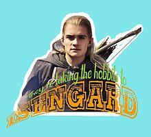 To Isengard! by LookItsHailey