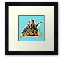 To Isengard! Framed Print