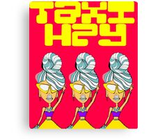 Hey Taxi Canvas Print