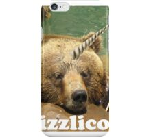 grizzlicorne iPhone Case/Skin